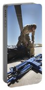 Pararescuemen Sorts Out His Gear Portable Battery Charger