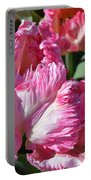 Pink Parrot Tulip Portable Battery Charger