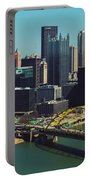 Pittsburg Skyline Portable Battery Charger