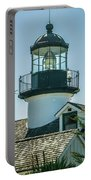 Point Pinos Lighthouse In Monterey California Portable Battery Charger