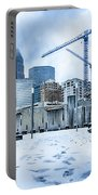 Rare Winter Weather In Charlotte North Carolina Portable Battery Charger