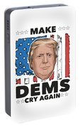 Reelect Trump For President Keep America Great Light Portable Battery Charger