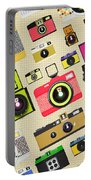 Retro Camera Pattern Portable Battery Charger