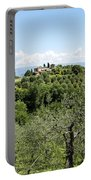 Rolling Green Hills With Trees Portable Battery Charger