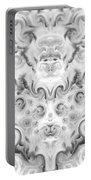 Roses Tapestry And Curls Portable Battery Charger