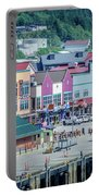 Scenery Around Alaskan Town Of Ketchikan Portable Battery Charger