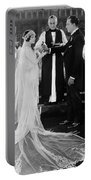 Silent Film Still: Wedding Portable Battery Charger