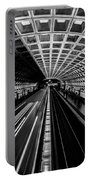 Smithsonian Metro Station In Washington Dc Portable Battery Charger