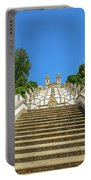 Staircase Of Bom Jesus Do Monte Portable Battery Charger
