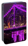 Story Bridge In Brisbane, Queensland Portable Battery Charger