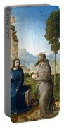 Temptation Of Christ Portable Battery Charger