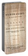 The Federalist, 1788 Portable Battery Charger