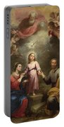 The Heavenly And Earthly Trinities Portable Battery Charger