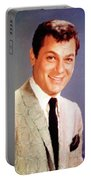 Tony Curtis Vintage Hollywood Actor Portable Battery Charger