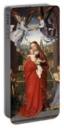 Virgin And Child With Four Angels Portable Battery Charger