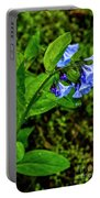 Virginia Bluebell Portable Battery Charger