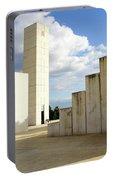 White City Statue, Tel Aviv, Israel Portable Battery Charger