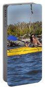 Woman Kayaking Portable Battery Charger