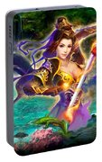 Women Warrior Portable Battery Charger