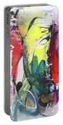 Abstract Landscape Painting Portable Battery Charger