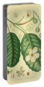Vintage Botanical Illustration Portable Battery Charger