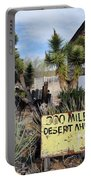 300 Miles Desert Ahead Portable Battery Charger