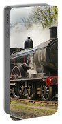 Steam Train At Rest. Portable Battery Charger