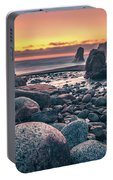 Soberanes Point Big Sur California Beautiful Sunset Portable Battery Charger