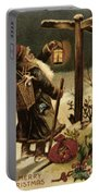 American Christmas Card Portable Battery Charger