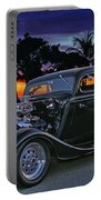 33 Ford On The Mexico Beach Portable Battery Charger