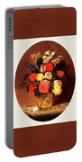 bs-flo- James Henry Wright- Flower Still Life James Henry Wright Portable Battery Charger