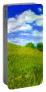 Pictures Of Oil Paintings Landscape Portable Battery Charger