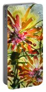 Divine Blooms Portable Battery Charger