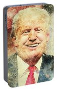 Donald Trump Portable Battery Charger