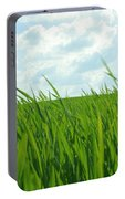 38744 Nature Grass Portable Battery Charger