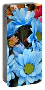 ,, Flowers ,, Portable Battery Charger