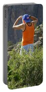 3d10302-dc Ed Cooper On The Hunt Portable Battery Charger