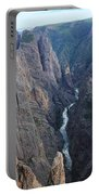 3d10307 Narrows View On North Rim  Portable Battery Charger