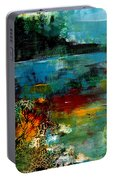 Abstract  Landscape Portable Battery Charger