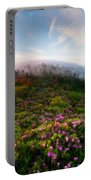 Acrylic Landscape Portable Battery Charger