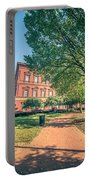 Architecture And Buildings On Streets Of Washington Dc Portable Battery Charger