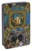 Artistic Ceilings Within The Vatican Museums In The Vatican City Portable Battery Charger