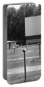 Auburn, Ny - Drive-in Theater Bw Portable Battery Charger
