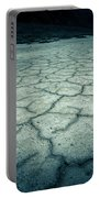 Badwater Basin Death Valley Salt Formations Portable Battery Charger