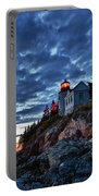 Bass Harbor Lighthouse Portable Battery Charger