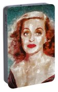 Bette Davis Vintage Hollywood Actress Portable Battery Charger