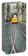Bica Funicular, Lisbon, Portugal Portable Battery Charger