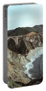 Bixby Creek Bridge Big Sur Photo By Pat Hathaway Portable Battery Charger