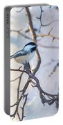 Black-capped Chickadee Portable Battery Charger