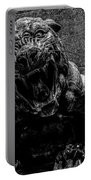 Black Panther Statue Portable Battery Charger